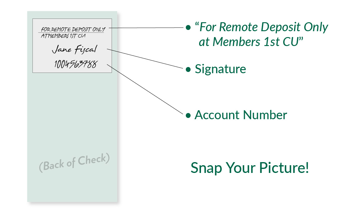 new remote check deposit endorsement requirements