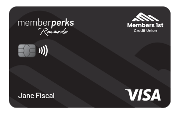 Visa Memberperks Rewards Credit Card