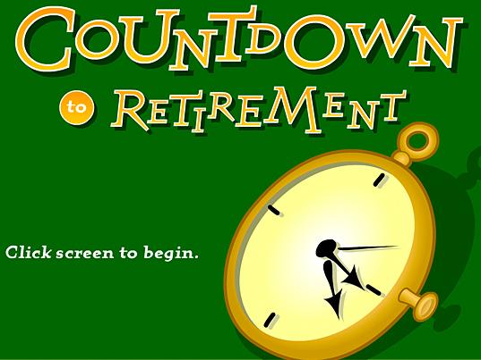 Countdown to Retirement