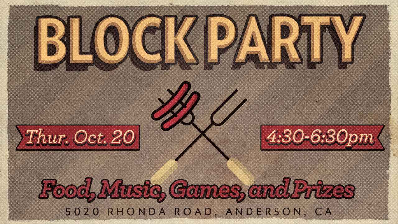 Join us for a Block Party